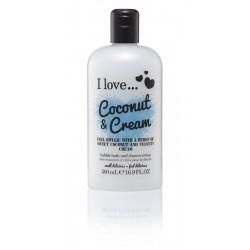 I LOVE Bath Shower Coconut Cream 500 ml