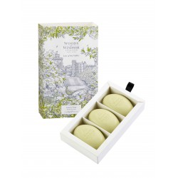 Woods of Winsor Lily of the Valley English Soap | 3 x 60 gr